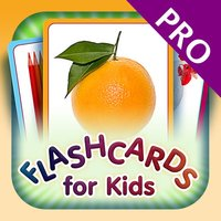 Flashcards for Kids PRO - Learn My First Words with Child Development Flash Cards