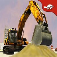 Excavator Crane: Bulldozer & Concrete Loader Drive