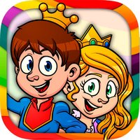 Paint classic tales – educational coloring book pages of stories for kids