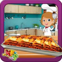 Beef Lasagna Cooking & Yummy Food maker game