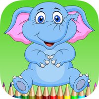 elephant coloring book for kids : learn to paint elephants and mammoth