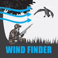 Goose Hunting Wind Finder for Canada Geese
