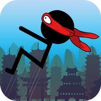 Backflip Stickman Ninja Runner