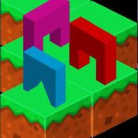 Geometry Pixels Runner Trio
