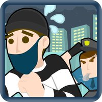 Rob-bers Roof-top Escape the Police - Crime Scene