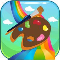 Magic Crayon Painting - The Free Colorful Drawing Cartoon Book