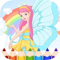 Fairy Coloring Book - Painting Game for Kids