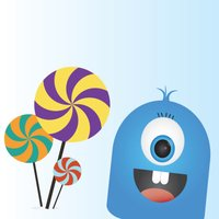 Blue - The Candy Monster
