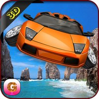 Flying Car Simulator - Futuristic Driving Stunts - Airplane Flight Pilot