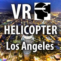 VR Los Angeles Helicopter Flight by Night - L.A. Virtual Reality 360