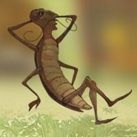 Una gallina e uno scarafaggio - libro racconto