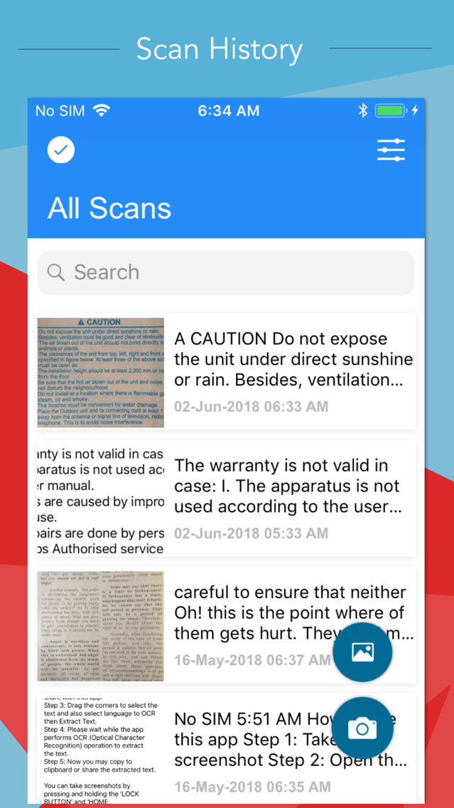Text Scanner (OCR) App for iPhone - Free Download Text