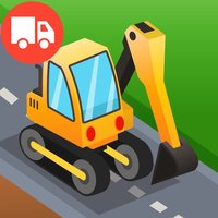 Diggers & Trucks Game For Kids