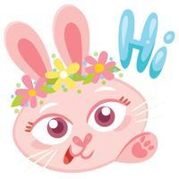 Happy Easter stickers by MissChatZ