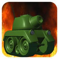 Tank War - Desert battle