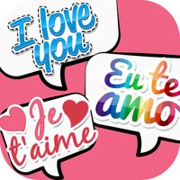 I Love You Stickers in All Languages for iMessages