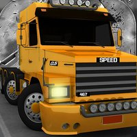 Truck Driving Perfect Highway Trucks Drive Quick Shift Precision Game