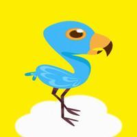 Flying Bird vs Hi-Heels ~ Flip Flop Blue Bird Journey!