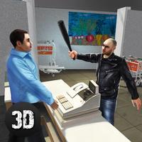 Vegas Supermarket Gangster Escape 3D Full