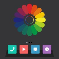 Dock Color - Wallpaper Editor