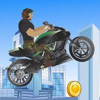 Army Motorcycle Racing Escape