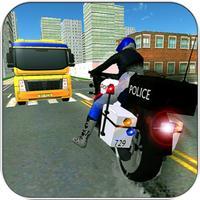 Police Bike Criminals Chase