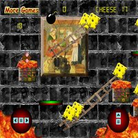 Medieval Cheese Meister Platform Game