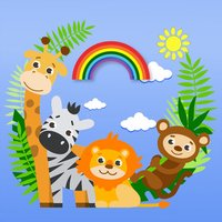 Animals Zoo - Easy Drawing and Painting for Kids
