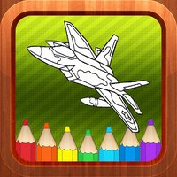 Airplane Vehicles Kids Coloring Books Games Free