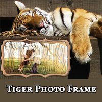 Wild Animal Tiger Photo Frame