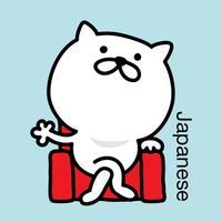 Pretty kitten sticker 3