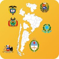 South America Country's State Maps, Flags, Info