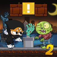 Super Ninja vs. Zombie 2 - Popular Free Run Games