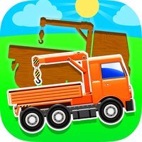 Truck Puzzles for Toddlers. Baby Wooden Blocks