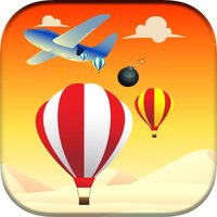 Parachute Crush - finger tap crush top free games