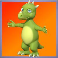 Cartoon Dinosaur Puzzle