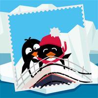 Открыточки с Южного полюса - для iMessage