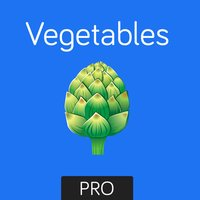 Vegetables Flashcard for babies and preschool Pro