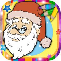 Christmas Coloring Book Pages – Paint & Draw