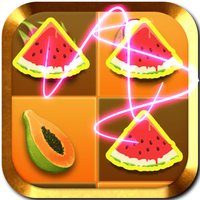 Fruit Crush Link Mania- Drag finger with like Fruits