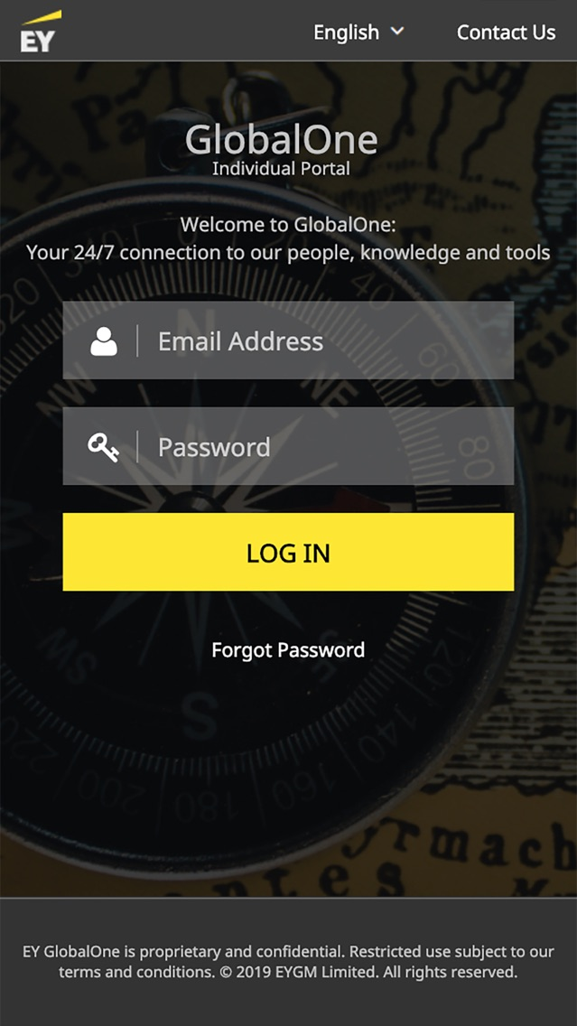 EY GlobalOne Mobile App for iPhone - Free Download EY