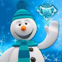 Frozen Snowman - Santa Tracker