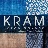 KRAM - Sakon Nakhon Natural Indigo Dyed Fabric