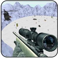 Snow Sniper Shooting
