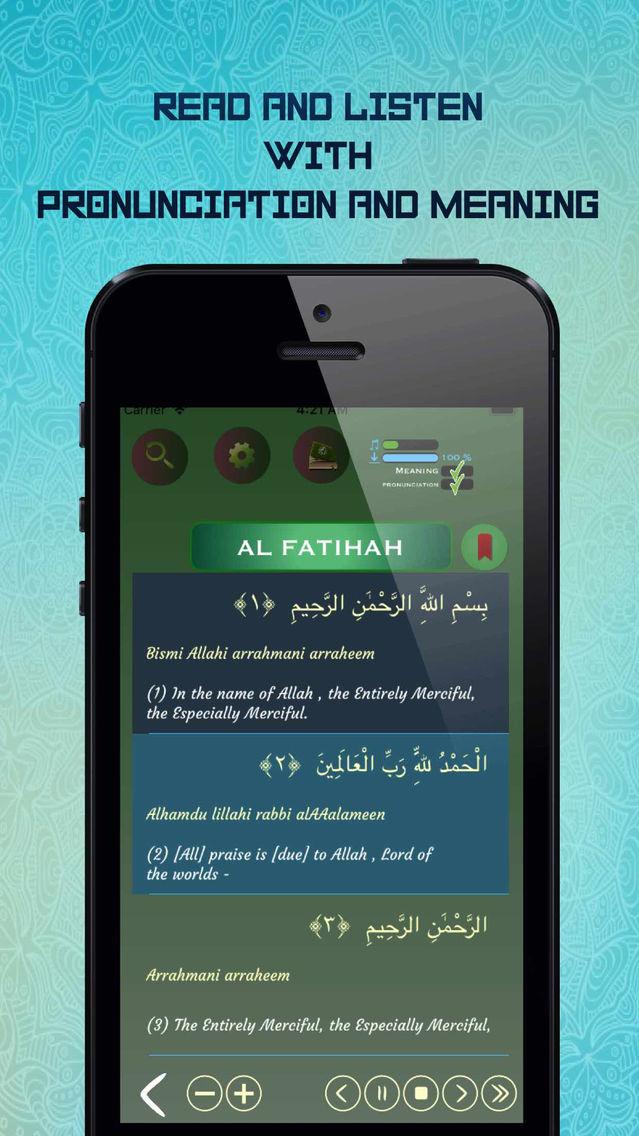 Offline Quran Audio Reader Pro App for iPhone - Free