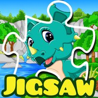 Dino jigsaw puzzles 2 to 7 year educational games