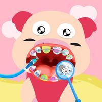 Farm Pig Dentist