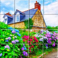 Tile Puzzle France