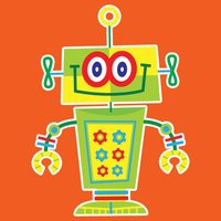 Funny Robot Stickers