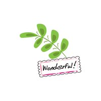 Leaves Talk stickers by wenpei